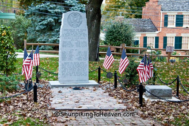 World War I and World War II Memorial, Mineral Point, Wisconsin