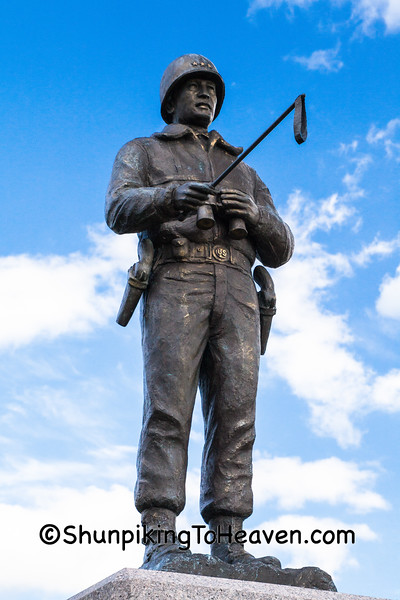 Statue of General George S. Patton, Trempealeau County, Wisconsin