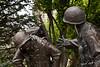 Grieving Soldiers, WW II/Korean War Memorial, Zanesville, Ohio