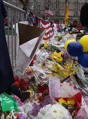 Memorial to the Boston Marathon