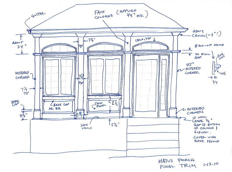 porch sketch