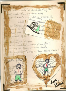 Woody's Letters by Robin