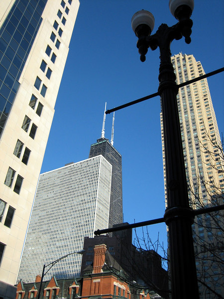 View from Chicago Avenue