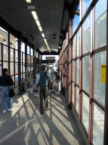 New Brown Line Stop