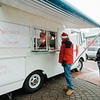 Food trucks line Main Street during the Memories of Main Street event in Fitchburg on Saturday, December 9, 2017. SENTINEL & ENTERPRISE / Ashley Green