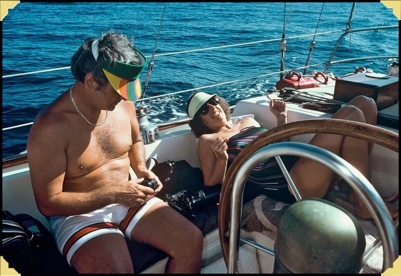 1982.01 Lucky Goose, Bob & Caroline in Florida