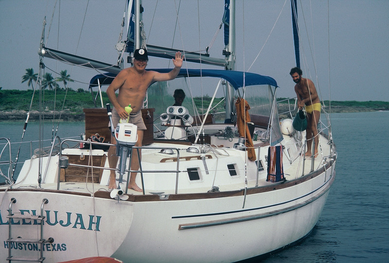 1980.10 Lucky Goose, Millers in Bimini