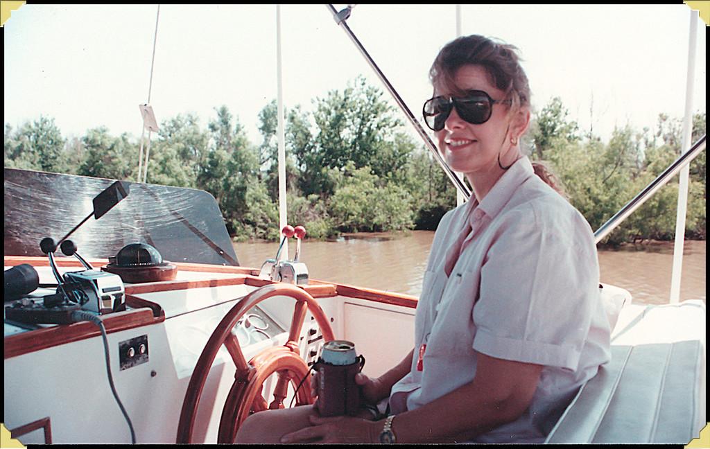 Nancy at Helm