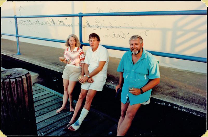 Kenny, Ellie & Jimmy Plotting