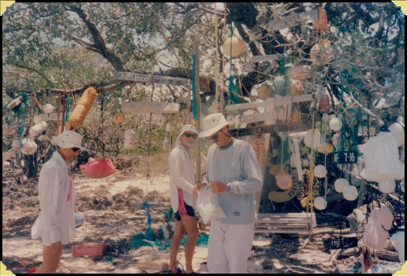 Lu, Fred, Don - Allen's Pensacola Cay, Bahamas