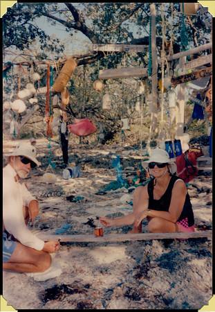 Don & Nancy - Allen's Pensacola Cay, Bahamas