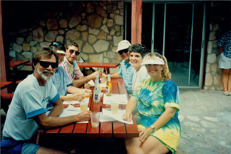 Jim and Betty Barnes, Kieth and Carol Regnier and Don and Nancy - Two Turtles, Georgetown