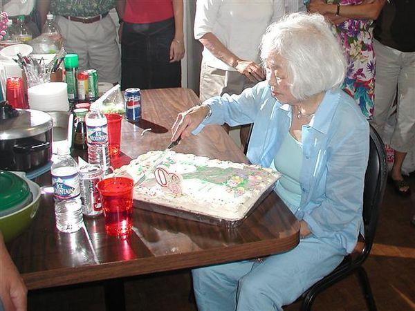Memmi's 80th Birthday Party