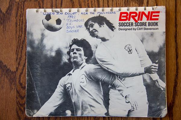 Memories 1992 Trumbull Soccer Book vs Foran 2014 hunting license