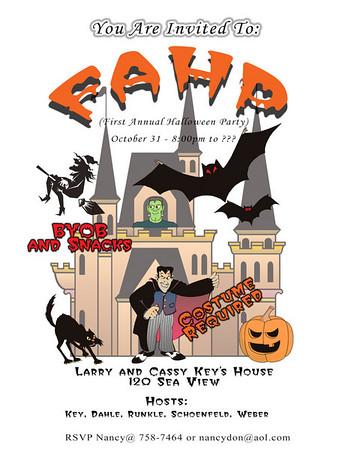 Bay Harbor Halloween Party-2002