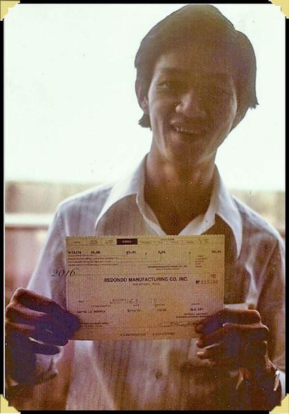 First Check at Redondo, Quang
