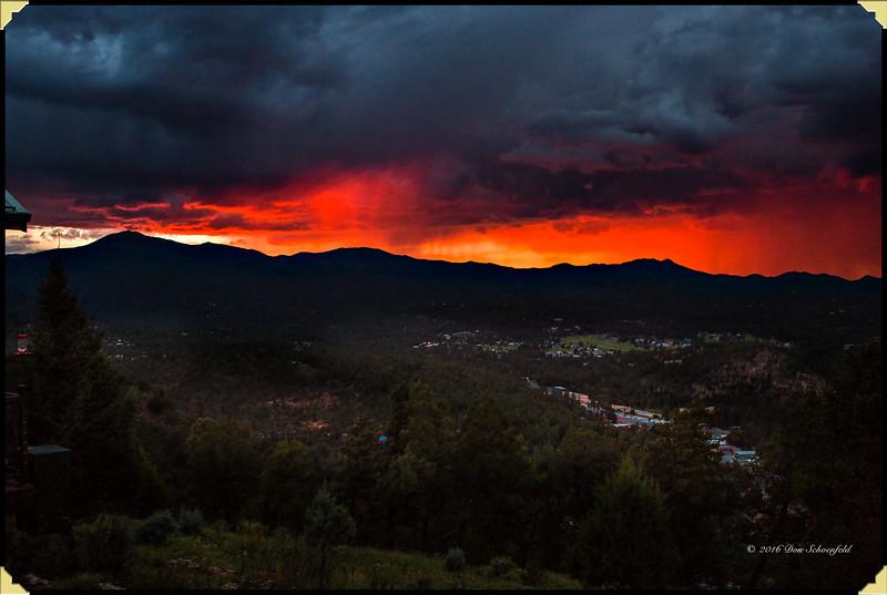 Ruidoso Sunset