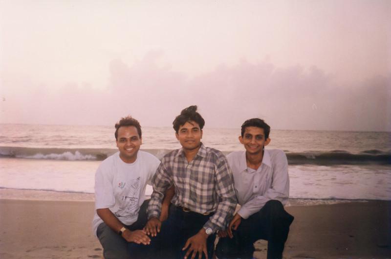 At Mithapur Beach (Pawas, Hardik, Tushar)