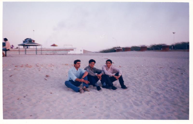 At Mithapur Beach
