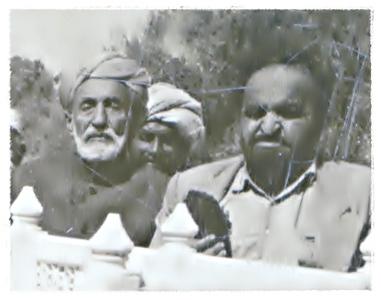 SB Mir Allahdad Khan and Mir Haji Ghulam Muhammad Khan