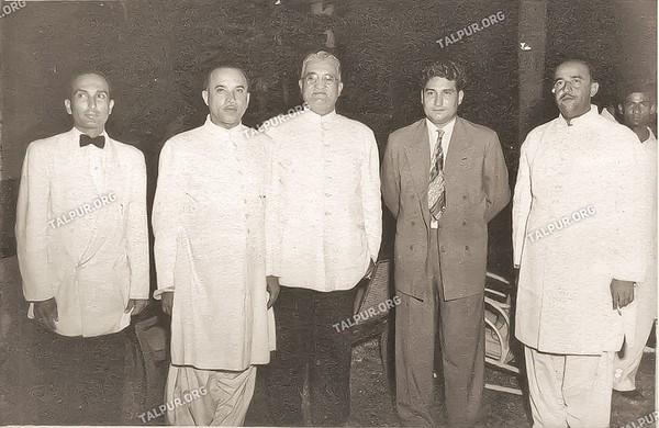Mir Imam Bux Talpur, Pir Pagaro and Others