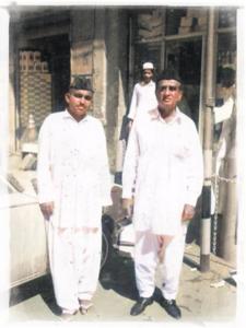 Mir Yar Muhammad Talpur & Ghulam Haider Shah