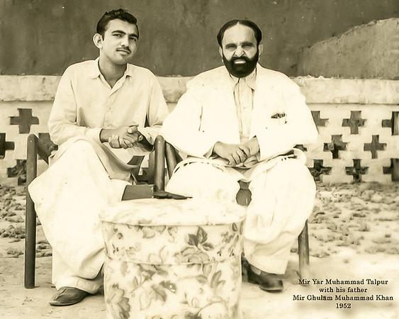 Mir Haji Ghulam Muhammad Talpur & Mir Yar Muhammad Talpur