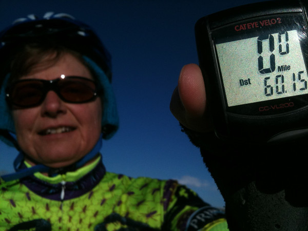 12 consecutive months of 60-mile days!
