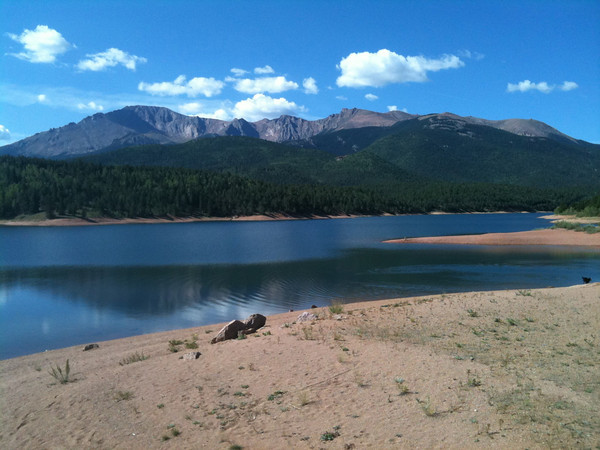 Crystal Reservoir, Pikes Peak<br /> <br /> 2011 Assault on the Peak