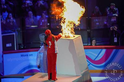 2020 Youth Winter Olympics - Opening Ceremony, Vaudoise Aréna, Lausanne, Switzerland