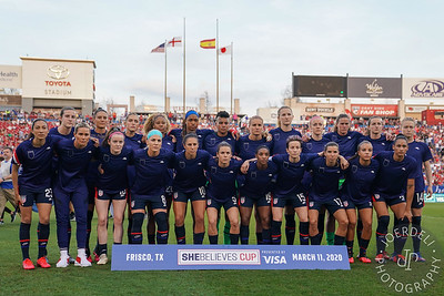 Full team photo of the USA