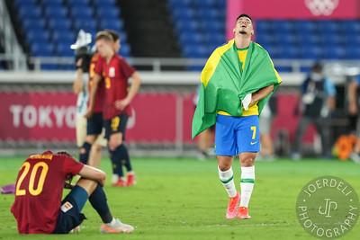 Brazil v Spain - International Stadium Yokohama