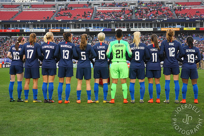 England Women vs The United States Women - SheBelieves Cup 2019