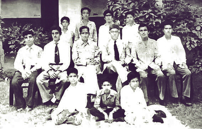 Mir Yar Muhammad Talpur in Sindh Madressah