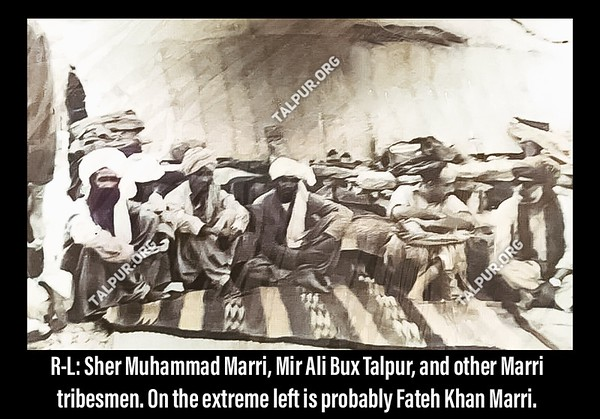 Sher Muhammad Marri and Mir Ali Bux Talpur