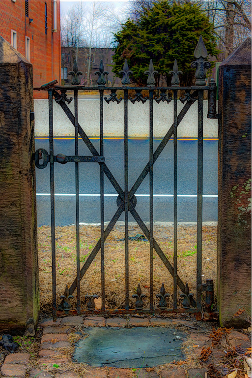 The Old Victorian Gate
