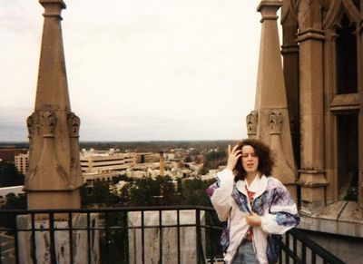 Ellen & I visited Duke University back in 1996, when you could still go up to the top of the chapel!