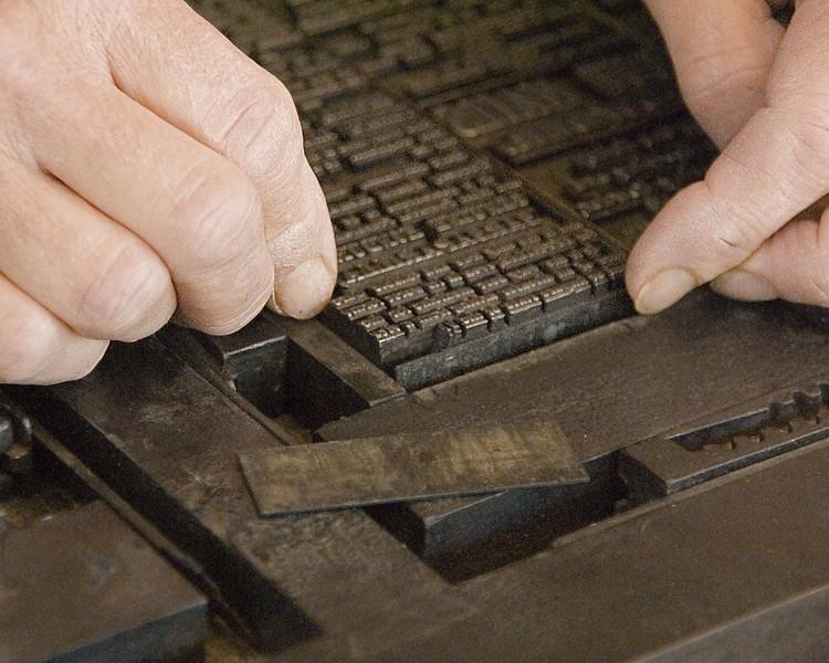 Printers Hands