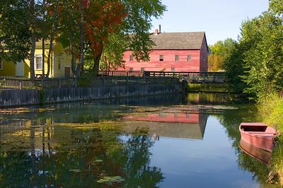 Woolen Mill in Early Fall