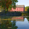 Woolen Mill in Early Fall