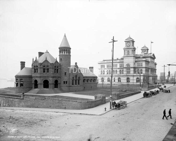 Cossitt Library and Post Office, Memphis, Tenn., ca. 1906