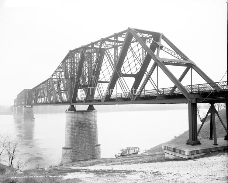 Kansas City & Memphis Ry. bridge, Memphis, Tenn., ca. 1906