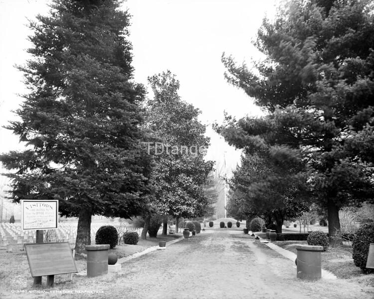 National Cemetery, Memphis, Tenn., ca. 1906