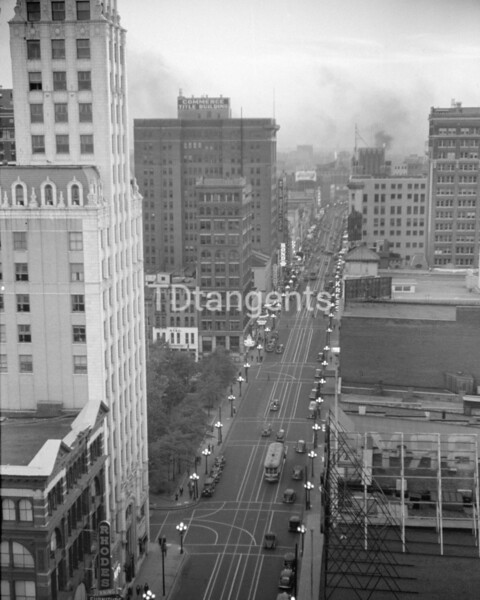 View of Memphis, Tennessee, from roof of hotel  Enlarge, 1939