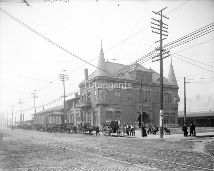 Union Station, Memphis, Tenn., between 1900 and 1915