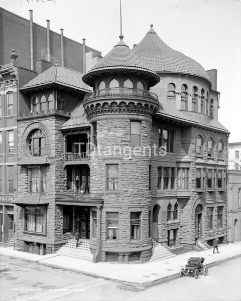 Tennessee Club, Memphis, Tennessee, ca. 1906