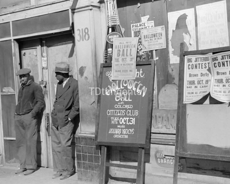 Beale Street, Memphis Tennessee, 1939