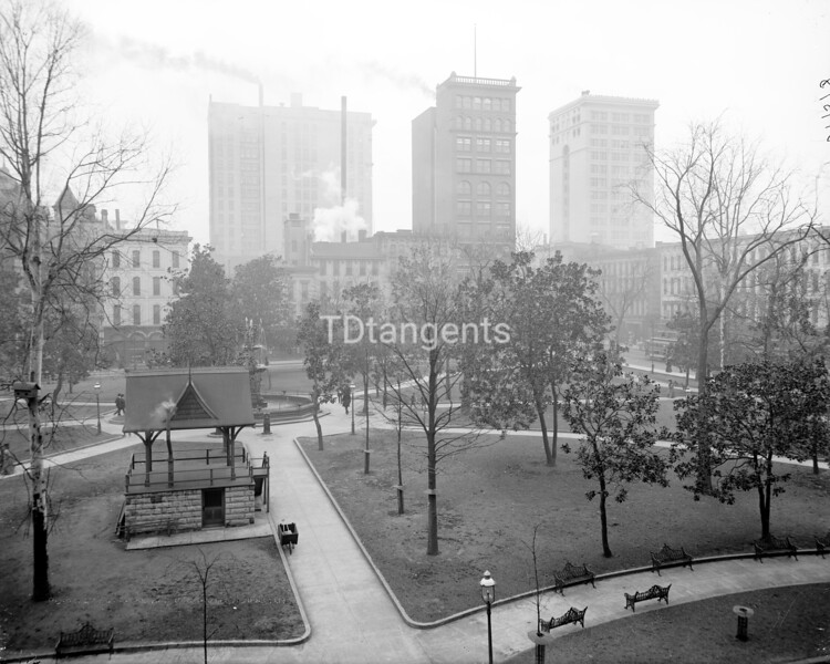 Court Square and skyscrapers, Memphis, Tenn., ca. 1906