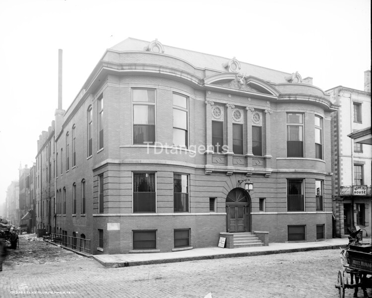 Elks club, Memphis, Tenn. 1906