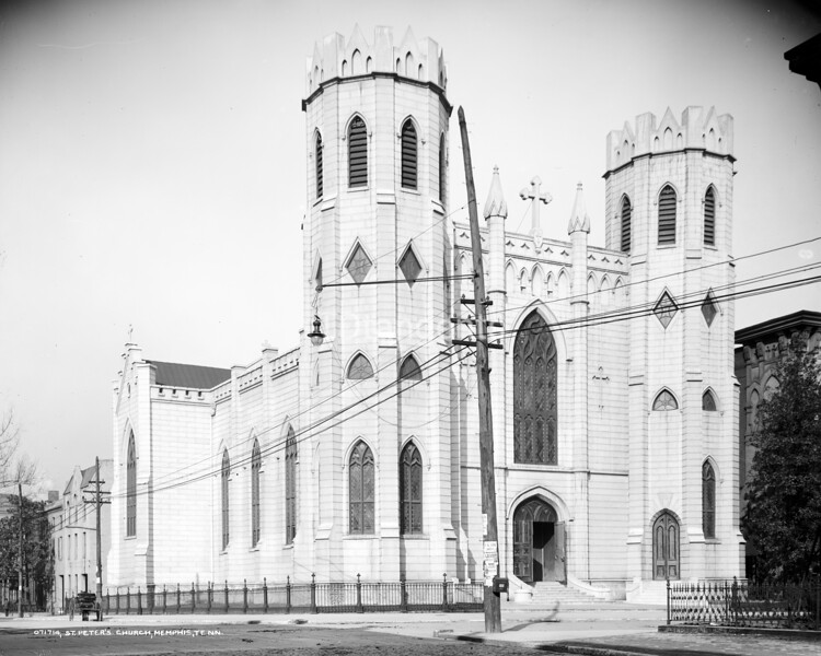 St. Peter's Church, Memphis, Tenn., between 1900 and 1910